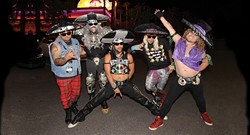 METAL MARIACHI MASHUP!:  Metalachi brings their mariachi style black metal music to SLO Brew on June 5. - PHOTO BY SCOTT HARRISON