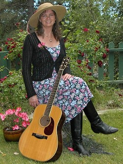 SOARING SONGBIRD :  Jean Butterfield performs songs from her new CD at the Songwriters At Play showcases Dec. 27 at SLO Down Pub and Dec. 30 at Sculpterra Winery. - PHOTO COURTESY OF JEAN BUTTERFIELD