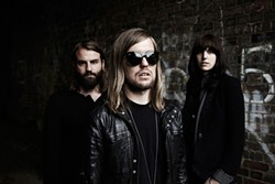 NEW BRITISH INVASION! :  Get your Brit-rock itch scratched on Jan. 27 when Band of Skulls plays SLO Brew. - PHOTO COURTESY OF BAND OF SKULLS