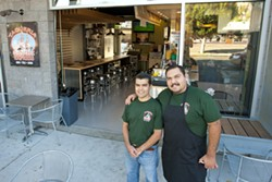 FROM TACOS TO TORTAS:  Taqueria Santa Cruz Express is the third store of a family owned restaurant. It offers a variety of shellfish, meats, and salsas in its dishes. - PHOTO BY STEVE E. MILLER