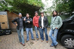 FROM AUSTIN WITH LOVE :  The Band of Heathens appears April 8 at SLO Brew. - PHOTO COURTESY OF BAND OF HEATHENS