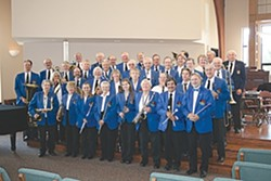 THE BAND THAT TIME FORGOT :  The SLO County Band is so old that its first members had gills and primordial soup dripped off their instruments, but over its long and storied career, it kept adding newer, more evolved members. Hear this long-running ensemble on June 21 at Mitchell Park's bandstand. - PHOTO COURTESY OF THE SLO COUNTY BAND