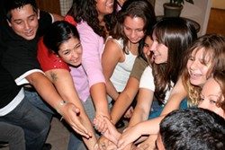 PRESS PLAY :  Momentus International is comprised of 15 youths from Santa Maria to San Luis Obispo who will come together to participate in an international conversation through art. With the help of local artist mentors, these young people will work to create a performance that expresses their message to the world, and gives a glimpse into our community from the eyes of our youth. In their second week together, they will be engaging with our community, speaking on Spanish and English radio stations, and television. A bilingual documentary will be made of the process, and will be shown locally and to their peers across the globe. These events take place July 31 from 6:30–8 p.m. at 