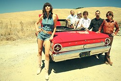 SING IT, SISTER:  Nicki Bluhm and the Gramblers headline the final show of the three-day Seven Sisters Fest, July 10 through 12, at El Chorro Regional Park. - PHOTO COURTESY OF NICKI BLUHM AND THE GRAMBLERS