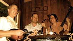 HARDCORE BLUEGRASS :  Portland's Foghorn Trio will deliver the perfect old time music for the Red Barn Concert Series on Oct. 9. - PHOTO COURTESY OF FORHORN TRIO