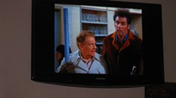 ART IMITATES LIFE IMITATES ART :  Festivus was actually invented and celebrated by Seinfeld writer Dan O'Keefe's father. O'Keefe brought the idea to the masses in this classic episode, and fans across the country have since adopted the tradition. - PHOTO BY NICK POWELL