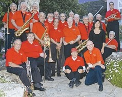CAL POLY ALUMNI BIG BAND: - PHOTO COURTESY OF CAL POLY ALUMNI BIG BAND