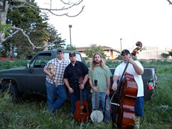 GOOD OLD BOYS :  On May 22, check out the Morro Bay Folk and Fiddle Festival with Mud Thump and two other bands, culminating with an old-time jam. - PHOTO COURTESY OF MUD THUMP