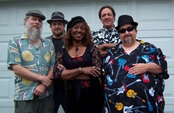 GET DANGEROUS :  New Times readers awarded Dr. Danger with an award for best R&B/ blues recording. Find out why at SLO Down Pub on Dec. 31. - FILE PHOTO COURTESY OF DR. DANGER
