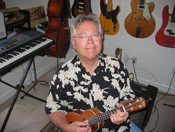 SIDEMAN NO MORE :  Local musician Wally Barnick has more than four decades of performances under his belt, and now he's produced his first solo recording, which he'll celebrate with an in-store performance at Boo Boo's on Saturday, Sept. 20. - PHOTO COURTESY OF WALLY BARNICK