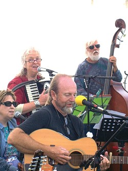 BUYS VEGGIES, DANCE A JIG :  See the Darlings Roar plays all three kinds of music: Scottish, Irish, and Celtic. Check them for free at the Avila Beach Farmers Market on Aug. 1. - PHOTO COURTESY OF SEE THE DARLINGS ROAR
