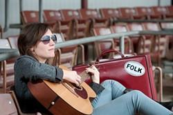 THE DEVLIN MADE ME DO IT :  Santa Barbara chanteuse Kat Devlin plays Sculpterra on May 13. - PHOTO COURTESY OF KAT DEVLIN