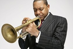 JAZZ MASTER :  Wynton Marsalis leads the Jazz at Lincoln Center Orchestra at the PAC on March 13. - PHOTO COURTESY OF WYNTON MARSALIS
