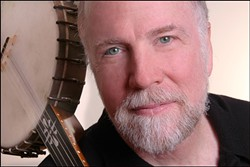 GET HAMMERED! :  Hammered dulcimer player, singer, and storyteller John McCutcheon plays Cal Poly's Spanos Theatre on March 17. - PHOTO COURTESY OFJOHN MCCUTCHEON