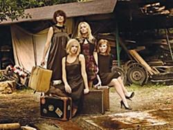 FROM SWEDEN WITH LOVE :  What do you call four Swedish folk babes? Abalone Dots! They play Downtown Brew on July 15. - PHOTO COURTESY OF ABALONE DOTS