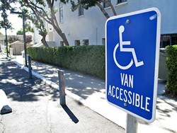 ADA WOES :  One man sued 14 SLO County businesses for alleged violations of the Americans with Disabilities Act. Half of those businesses are located in Cambria. - PHOTO BY CHRIS MCGUINNESS