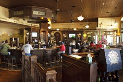 FRIENDLY :  The atmosphere is welcoming and relaxed, the food is hearty and delicious, and there's an excellent selection of brews at Rooney's Irish Pub. - PHOTO BY STEVE E. MILLER