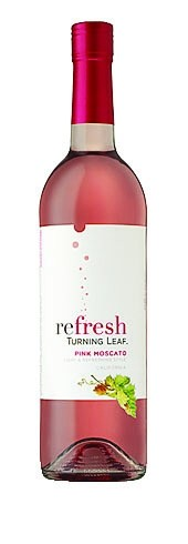 REFRESH BY TURNING LEAF PINK MOSCATO:
