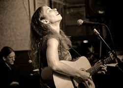 GET A LISTEN :  Nashville-based singer/songwriter Mare Wakefield dishes up some tunes on Sept. 9 at the Porch in Santa Margarita and Sept. 10 at Linnaea's Café in SLO. - PHOTO COURTESY OF MARE WAKEFIELD