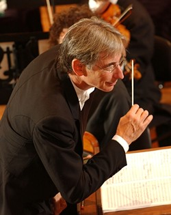 A ONE, AND A TWO :  The San Francisco Symphony, under the baton of Conductor Michael Tilson Thomas (pictured), performs Jan. 23 in the Cohan Center. - PHOTO BY TERRANCE MCCARTHY