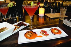 LOOKING GOOD:  The exotic Latin flavors produced by chef Santos MacDonal of La Cosecha in Paso Robles draws crowds of wine lovers for interesting food and creative wine cocktails. - PHOTOS COURTESY LA COSECHA