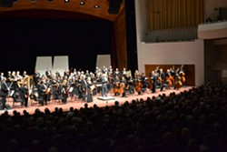 OFF TO A GOOD START:  The SLO Symphony kicked off the season in Russian style, with selections from Prokofiev and Tchaikovsky. - PHOTO COURTESY OF THE SLO SYMPHONY