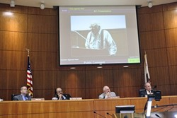 MAKE ME :  Dan DeVaul a staunch advocate for the homeless who founded the Sunny Acres shelter, is refusing to drop a lawsuit against SLO County even if doing so could reinvigorate promising negotiations. - PHOTO BY STEVE E. MILLER
