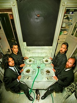 MELODY MEN :  Melodic rockers Dredg return to SLO Brew on Aug. 3. - PHOTO COURTESY OF DREDJ