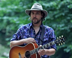 WESTERN RAMBLER :  Philip Gibbs plays Steve Key's Songwriters at Play showcases on Aug. 7 at Sculpterra, on Aug. 9 at Kreuzberg, and on Aug. 11 at The Porch. - PHOTO COURTESY OF PHILIP GIBBS