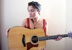 NORTH COUNTY GAL :  Singer-songwriter Jade Jackson will open Don Lampson's Jan. 31 birthday concert at Steynberg Gallery. - PHOTO COURTESY OF JADE JACKSON