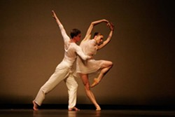 LAR LUBOVITCH:  This 12 member dance company, led by choreographer Lar Lubovitch, begins its first United States tour in more than a decade to perform Men's Stories, a physical exploration of masculinity. Oct. 25 at 8 p.m. at the PAC. Pre-show lecture at 7 p.m. at Phil - PHOTO COURTESY OF LAR LUBOVITCH