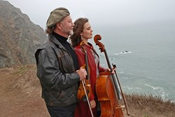 STRINGERS :  Alasdair Fraser and Natalie Haas will appear in concert on March 10 at La Bellasera Hotel & Suites. - PHOTO COURTESY OF ALASDAIR FRASER AND NATALIE HAAS