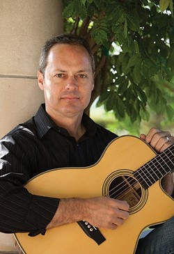 FINGERSTYLING :  Guitarist Martin Paris holds a CD release for Guitarist Off the Vine on Aug. 29 at Castoro Cellars in Templeton. - PHOTO COURTESY OF MARTIN PARIS