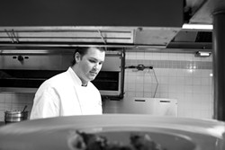 STILL STRONG :  Chef Gregg Wangard of Marisol at the Cliffs continues to serve up amazing, soulful food. - PHOTOS BY STEVE E. MILLER