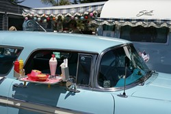 VINTAGE TOYS :  Pismo Coast Village RV Resort's sixth annual Vintage Trailer Rally Open House featured more than 300 vintage trailers. - PHOTOS BY GLEN STARKEY