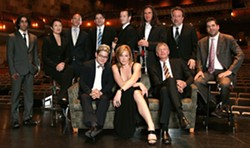 BACHELOR PAD MUSIC :  Pop exotica act Pink Martini returns to the PAC with new singer Storm Large on Nov. 9. - PHOTO COURTESY OF PINK MARTINI