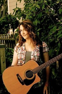 HONEYMOONER :  Christina Bailey, one of four lead singer-songwriters in the female folk super group called Honeymoon, plays Steve Key's Songwriters at Play showcase on Sept. 29 at The Porch. - PHOTO COURTESY OF CHRISTINE BAILEY