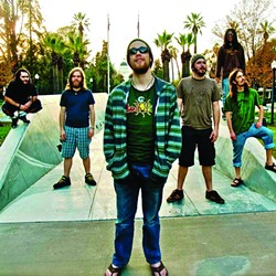 GET IRIE:  Reggae act Sol Seed returns to Frog and Peach on March 21. - PHOTO COURTESY OF SOL SEED