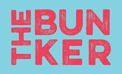 BUNKER DOWN:  The Bunker's Grand Opening party will take place on Dec. 6, from 6 to 10 p.m. It'll feature all new works from resident artists Neal Breton, Bret Brown, Jeff Claassen, Barn Boy, Irene Flores, Chris Daly, and Jamie Bruzenak, as well as new pieces from featured artists Lena Rushing, Ty Hjortland, and Isaac Wollman. Not to mention, there will be food by Honeybee Cakery, music by DJ Malik, and - beer from the neighbors at Bang the Drum. The Bunker is located at 810 Orcutt Road in SLO. For more info, they have a page on Facebook for all you youths to check out.
