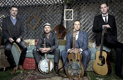 YEE HAW!:  The Red Barn Community Music Series hosts LA-based string band The Get Down Boys on June 6. - PHOTO COURTESY OF THE GET DOWN BOYS