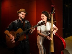 TWO VOICES, ONE SONG:  San Francisco's Misner & Smith love to rock the harmony. Catch their roots set at D'Anbino Vineyard and Cellars on Dec. 12. - PHOTO COURTESY OF SONGWRITERS AT PLAY