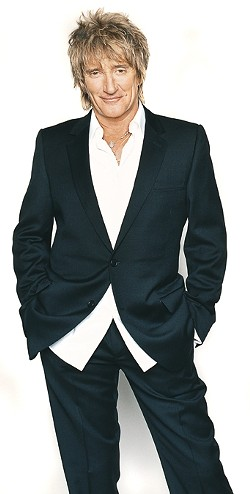 STILL COOL :  Indefatigable performer Rod Stewart plays the Mid-State Fair on July 30, with Bryan Adams opening. - PHOTO COURTESY OF ROD STEWART