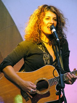 ROBIN'S IN THE HOOD :  Solo acoustic artist Janet Robin plays The Porch in Santa Margarita on Feb. 25. - PHOTO COURTESY OF JANET ROBIN