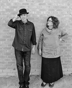 DUO:  Grammy Award winner Mollie O'Brien and her husband Rich Moore play two SLOfolks shows this week, Feb. 21 at Coalesce Bookstore and Feb. 22 at Castoro Cellars. - PHOTO COURTESY OF RICH MOORE AND MOLLIE O'BRIEN