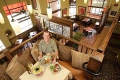 MEET THE DIRECTOR :  Aaron Linn upholds the high culinary standards that have earned his family's Cambria restaurant rich praise and patronage among locals. - PHOTO BY STEVE E. MILLER