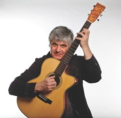 LJ! :  Guitar great Laurence Juber plats a workshop at Lightning Joe's on Nov. 7 and a concert at the Monday Club on Nov. 8. - PHOTO COURTESY OF LAURENCE JUBER