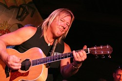 "MIRACLE MAN :  After playing covers for 25 years, Greg ""Spanky"" Baldwin is releasing his first collection of original songs on April 29 at Frog and Peach. - PHOTO COURTESY OF GRED ""SPANKY"" BALDWIN"