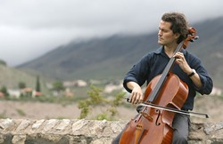 BOW ME, BABY :  The SLO Symphony's 50th Anniversary keeps getting better and better. Superstar cellist Zuill Bailey is their next special guest, performing on Nov. 13 at the Christopher Cohan Center. - PHOTO COURTESY OF ZUILL BAILEY