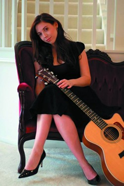 CRYSTAL CLEAR :  Crystal McKee is one of 25 entertainers playing this year's Arroyo Grande Strawberry Festival on May 28 and 29. - PHOTO COURTESY OF CRYSTAL MCKEE