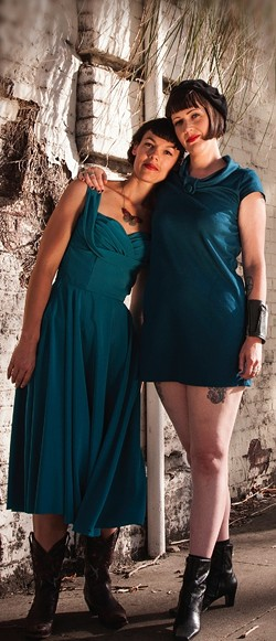 LOVELORN:  Heartache Sisters headline a Songwriters at Play showcase on March 29 at Sculpterra. - PHOTO COURTESY OF HEARTACHE SISTERS
